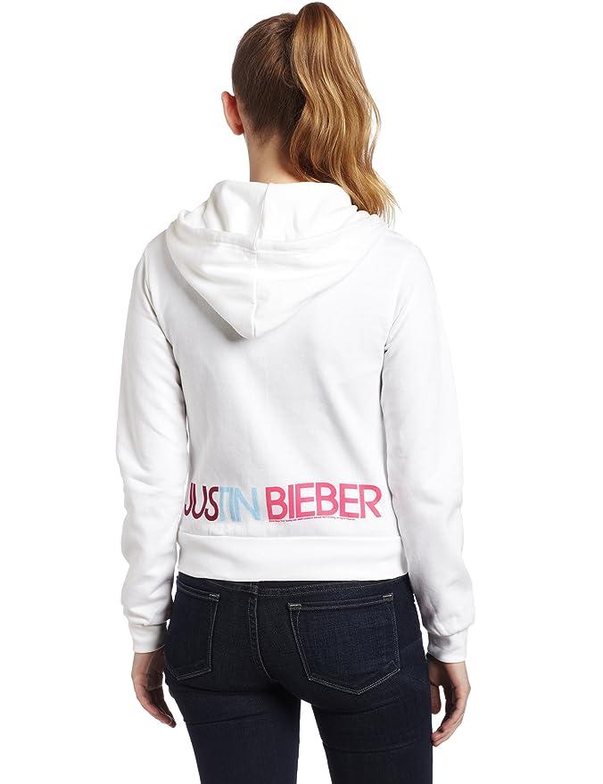 e2f1f3dc1a28 Justin Bieber - Love Birds Juniors Zip Hoodie - X-Large: Amazon.ca: Clothing  & Accessories