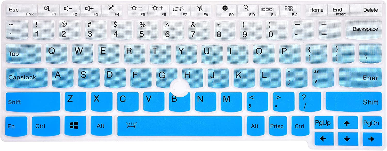 protector de teclado degrade azul lenovo ThinkPad ver modelo