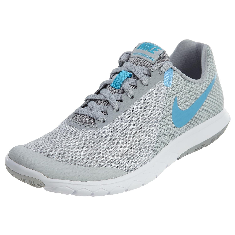 NIKE Women's Flex Experience RN 6 Running Shoe B06W9JV3M5 7 B(M) US|Pure Platinum/Blue Fury