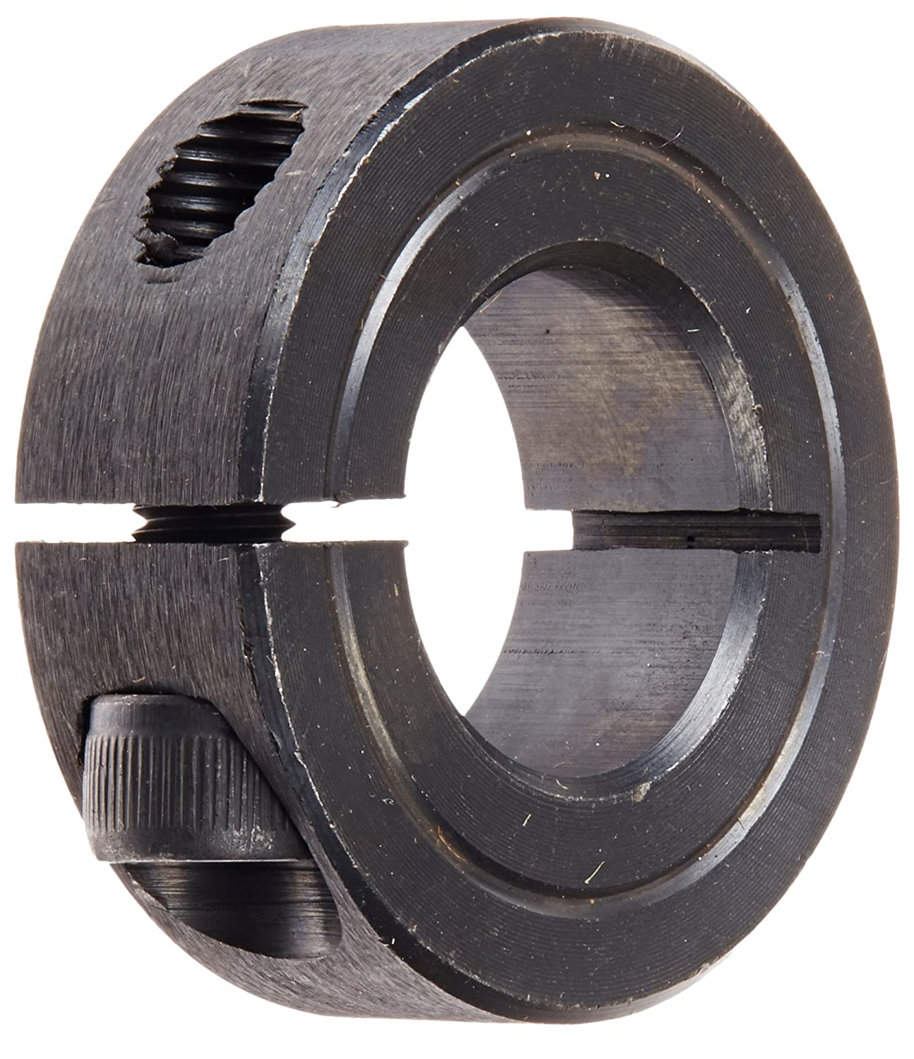Pack of 5 1//2 Width Climax Metals 1C-075X5 Mild Steel Black Oxide Plating Clamping Collar 1//4-28 x 5//8 Clamp Screw 1 1//2 OD 3//4 Bore