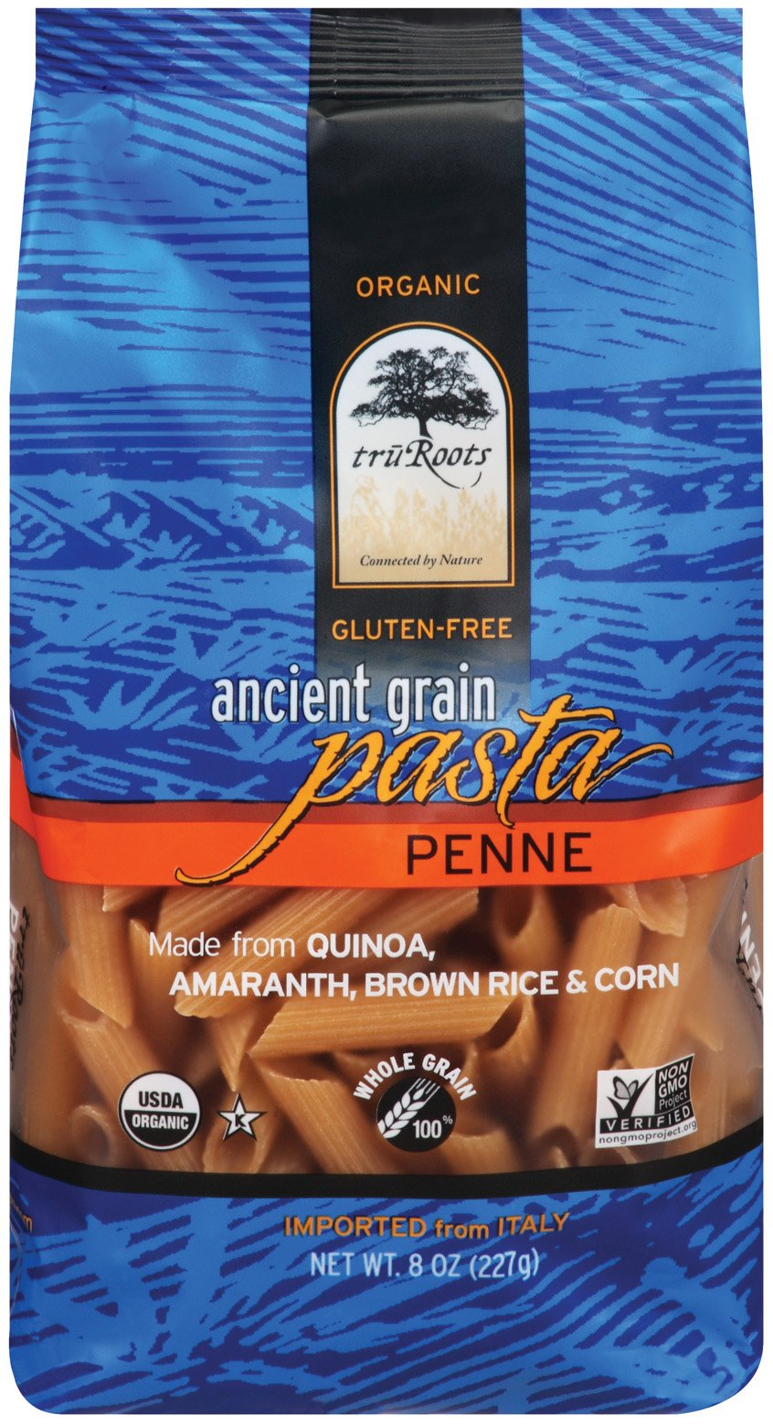 truRoots Ancient Grain Penne Pasta, 8 Ounce (Pack of 6) by truRoots