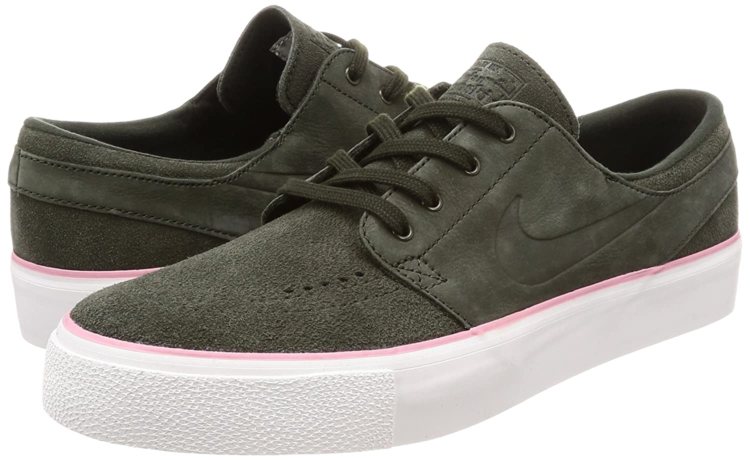 new york f3386 a0853 NIKE Men s SB Zoom Janoski HT Sequoia Sequoia Elemental Pink Skate Shoe 12 Men  US  Amazon.ca  Shoes   Handbags
