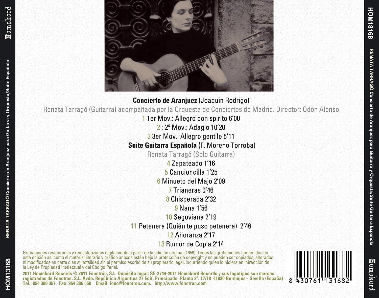 Concierto de Aranjuez / Suite guitarra española: Amazon.es: Música