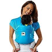 Baby K'tan ACTIVE Baby Carrier, Ocean Blue Sport Mesh (S)