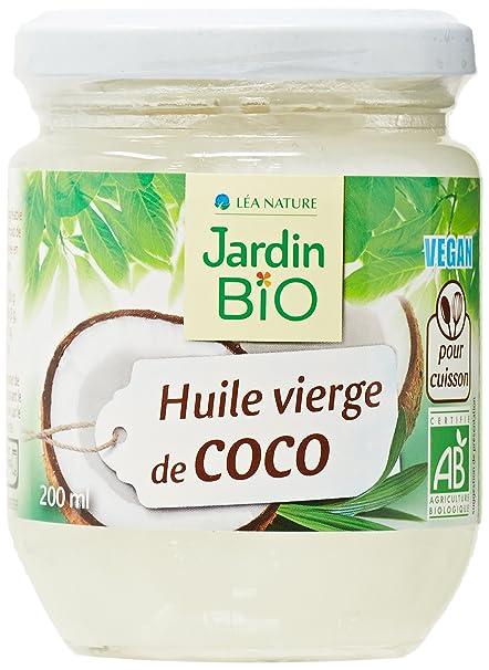 huile de noix de coco jardin bio