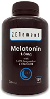 Melatonina 1mg - Magnesio y Vitamina B6-180 comprimidos: Amazon.es ...