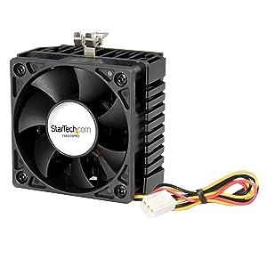 StarTech.com 65x60x45mm Socket 7/370 CPU Cooler Fan w/ Heatsink & TX3 connector (FAN370PRO)