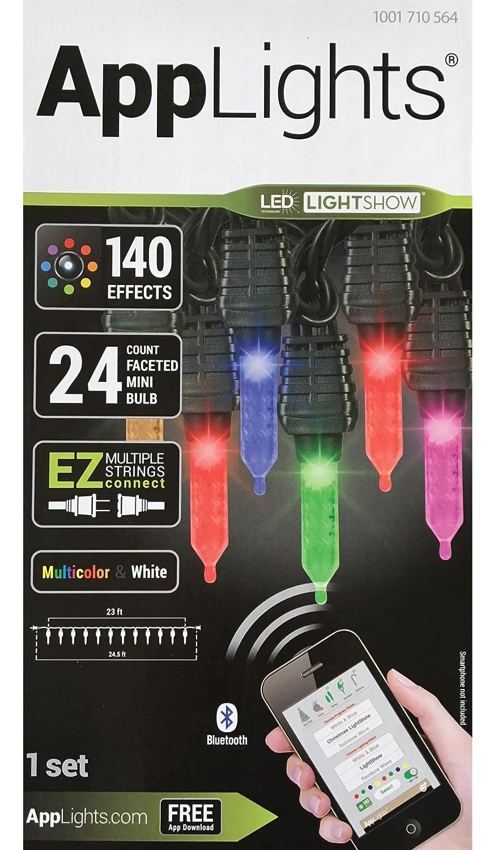 applights Lightshowライトセット、ミニ、ファセット、App制御さ – 24 ct B07B3T4L71