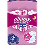 Always Cotton Soft Maxi Thick, Large sanitary pads, 60 pads