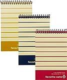 サンノート カラーリングメモ 198 A7サイズ B罫 2冊組 10組セット