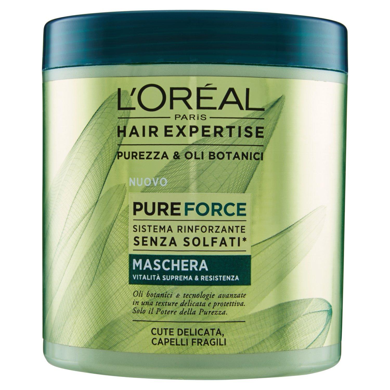 L'Oréal Hair Expertise Mask Pure Force 200 ml L' Oréal 1897