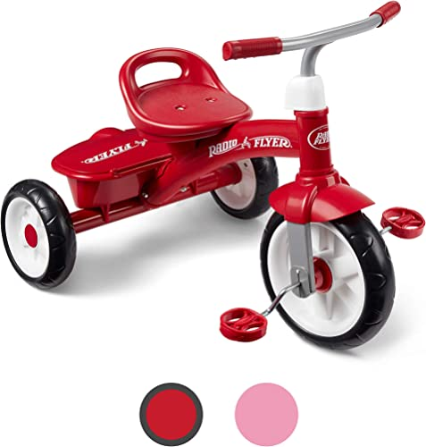 Radio Flyer Red Rider Trike, outdoor toddler tricycle, ages 2 ½ -5