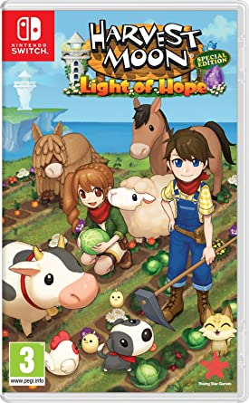 Harvest Moon Light of Hope Special Edition (Nintendo Switch)  Amazon ... 12e43de2f7