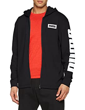 Puma REBEL BLOCK CREW - Sudadera - red gzP1G
