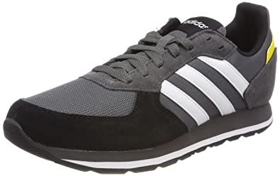 the best attitude 12947 6b5c6 adidas 8k, Chaussures de Gymnastique Homme, Gris (Grey Five F17ftwr White