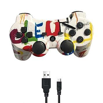 PUNING - Mando inalámbrico para PS3 Witch Cable: Amazon.es ...