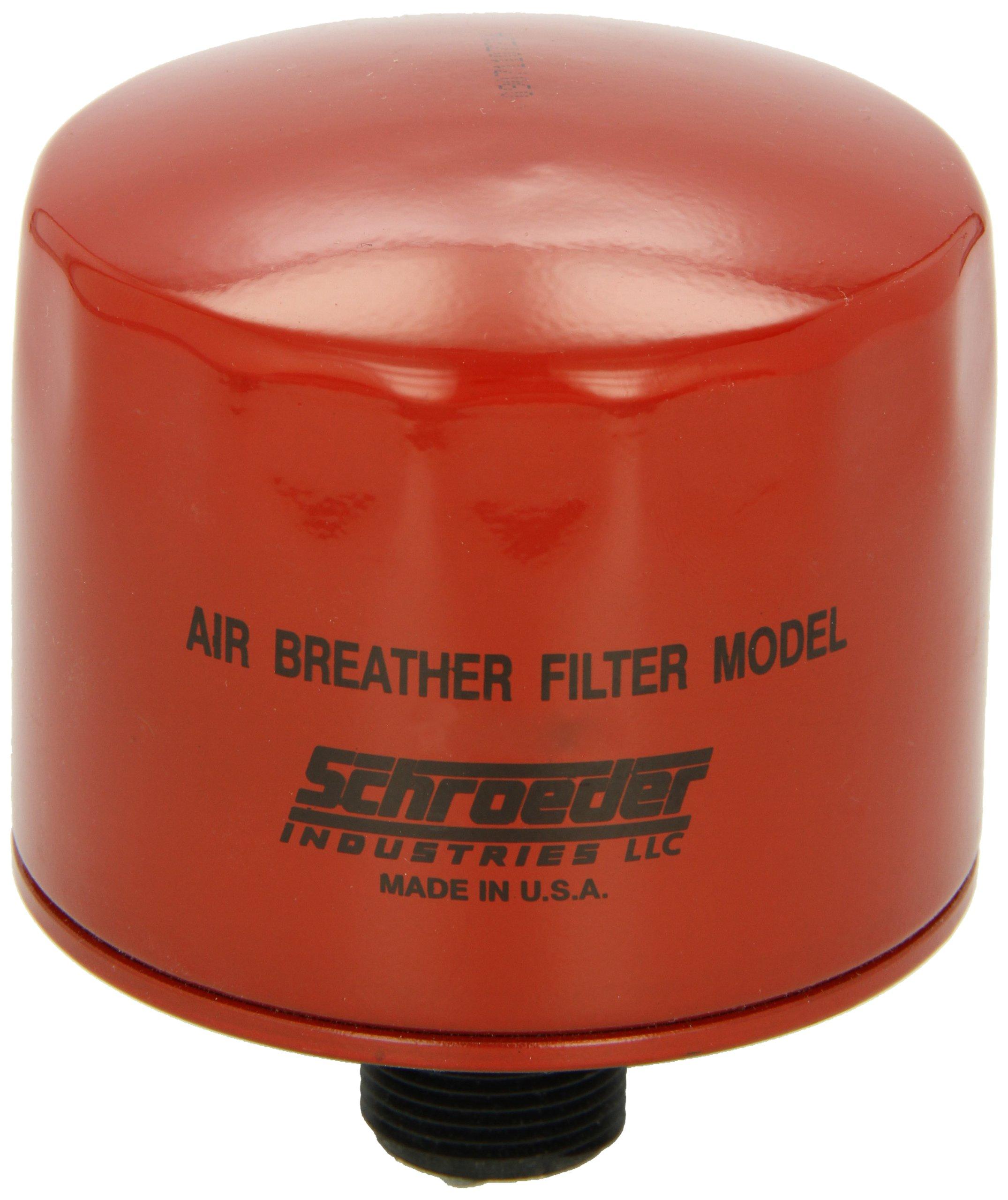 Schroeder ABF-3/10 Air Breather, Cellulose, Removes Rust, Metallic Debris, Fibers, Dirt; 40 scfm, 10 Micron