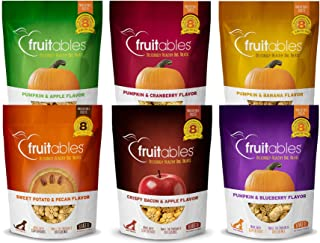 product image for Fruitables 7 Ounce All Natural Baked Crunchy Dog Treats Variety Packs