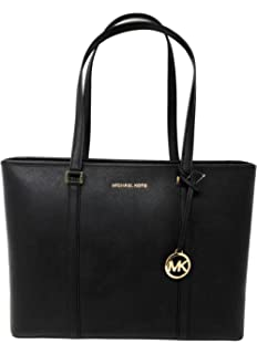 12a8c80dc761 Amazon.com: MICHAEL Michael Kors Jet Set Travel Large Logo Tote ...