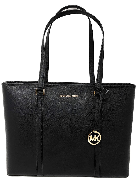 78c8b3b1ecdd Amazon.com: Michael Kors Large Sady Carryall Shoulder Bag (Black): Shoes