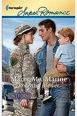 Marry Me, Marine Mass Market Paperback