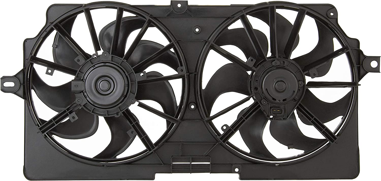 Spectra Premium CF12028 Dual Radiator Fan Assembly