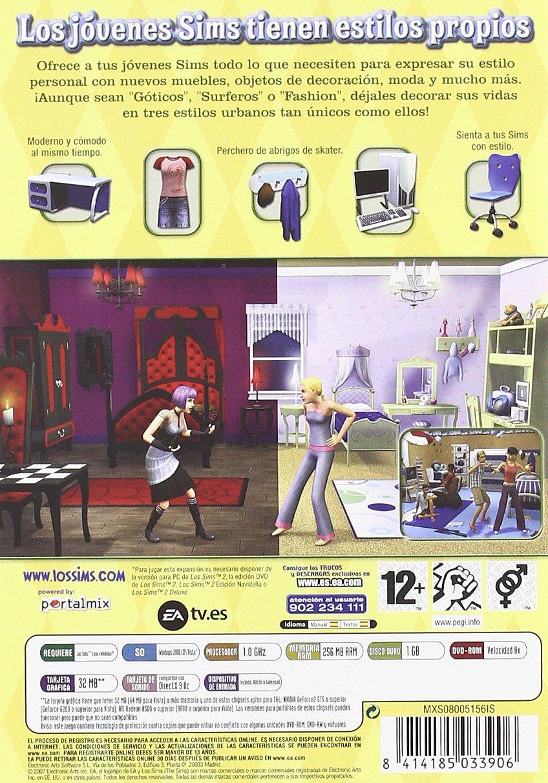 Los Sims 2: Jóvenes - Urbanos Accesorios: Amazon.es: Videojuegos