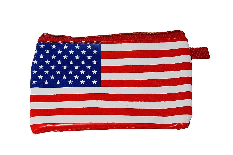 American Flag Coin Purse