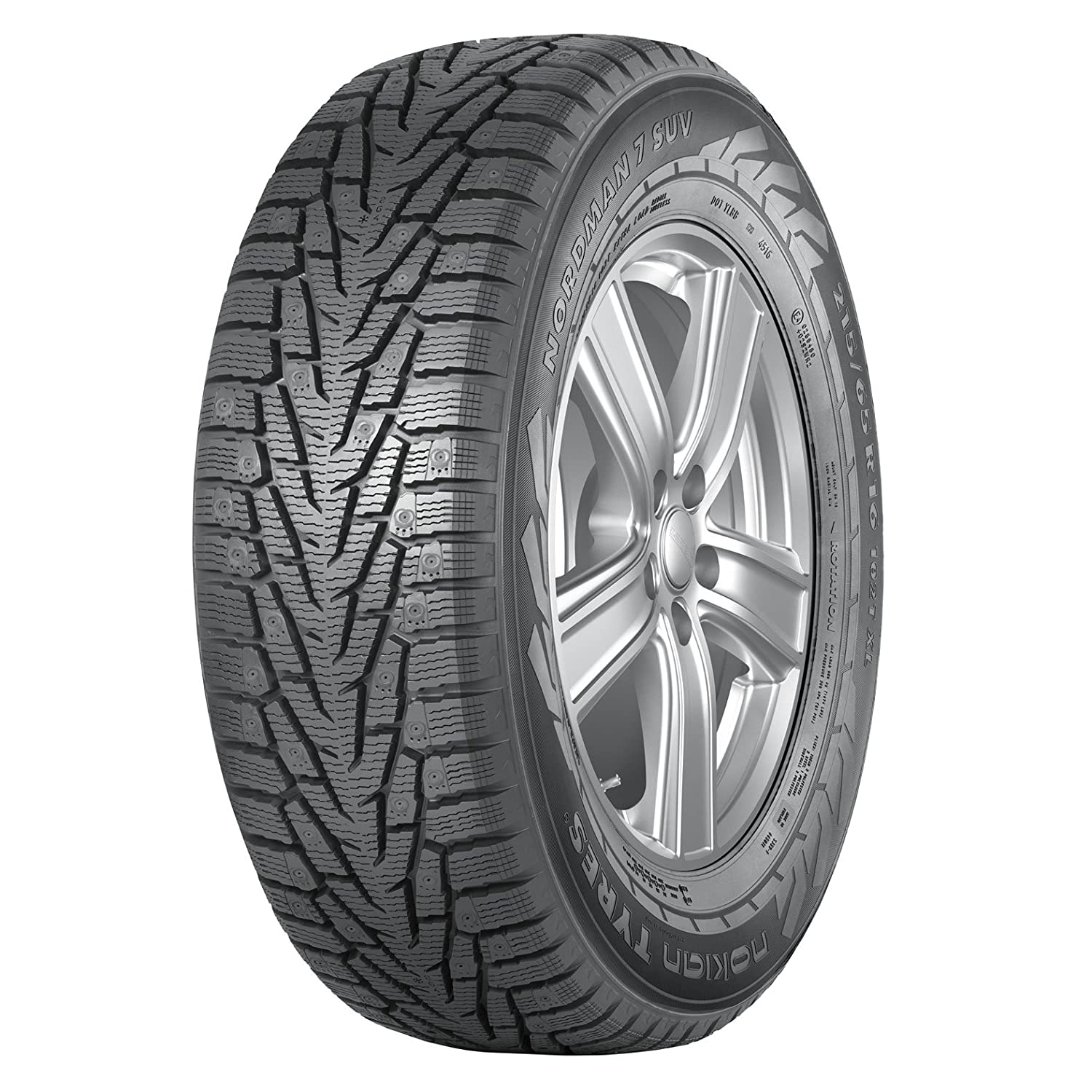 Nokian NORDMAN 7 SUV Performance-Winter Radial Tire-215/70R15 98T T430281