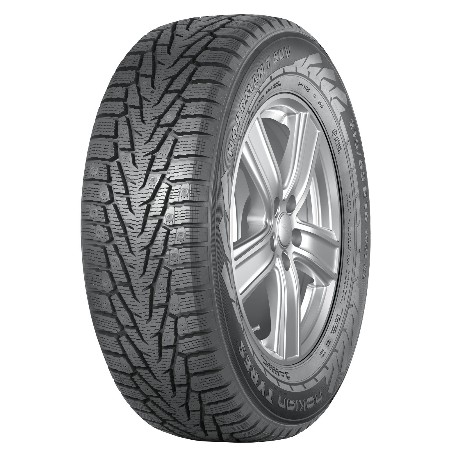 225/60R18 104T XL Nokian Nordman 7 SUV Non-Studded Winter Tire