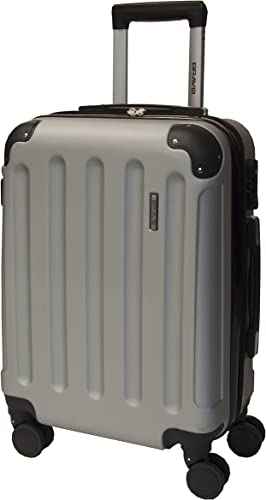 Performa Carry On 21 Inch Spinner Luggage with Wheels TSA Lock Travel Rolling Expandable Hardside Suitcase