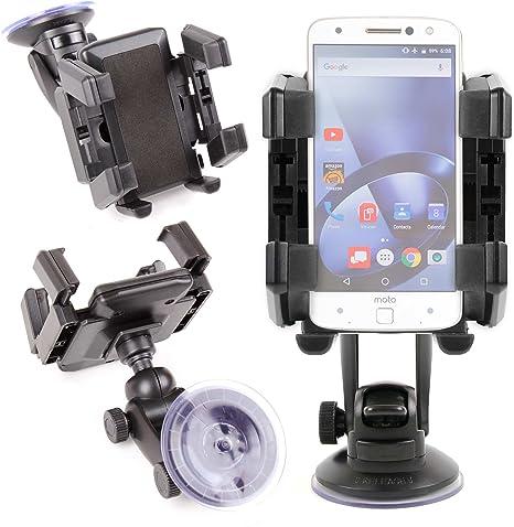 DURAGADGET Soporte con Abrazaderas para Smartphone Lenovo Moto Z/Moto Z Force/Phablet Lenovo PHAB2 / Pro/Plus Parabrisas De Su Coche!: Amazon.es: Electrónica