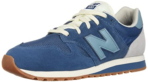 new balance 500 trainers in blue