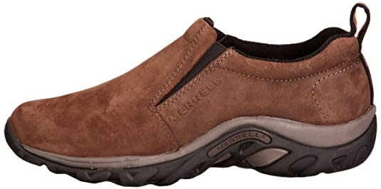 Amazon.com | Merrell Shoes Mens Jungle Moc Shoe, US 10, Grey | Loafers & Slip-Ons