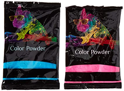 Amazon.com  Holi Color Powder 10pk 70g Each 5 True Blue and 5 Pink ... 9a215a0f3