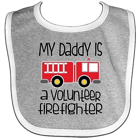 a15997e15 Amazon.com: - Volunteer Firefighter Daddy Baby Bib Faneilme: Clothing