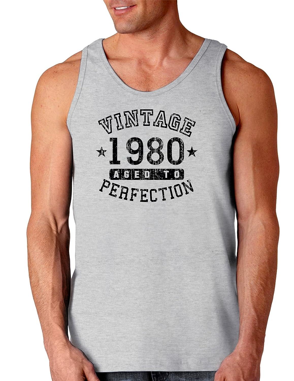 Vintage Birth Year Loose Tank Top Brand TooLoud 1980