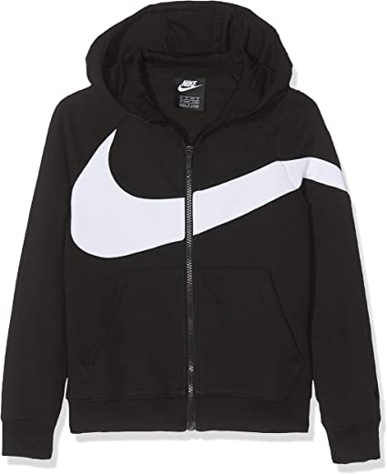 Nike B NSW Hbr Hoodie Fz Ft Stmt Sweat Shirt Garçon
