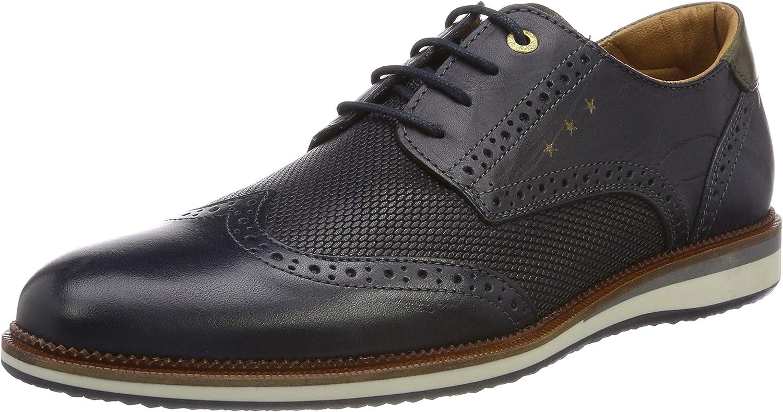 Pantofola d'Oro Rubicon Uomo Low, Zapatos de Cordones Brogue para Hombre