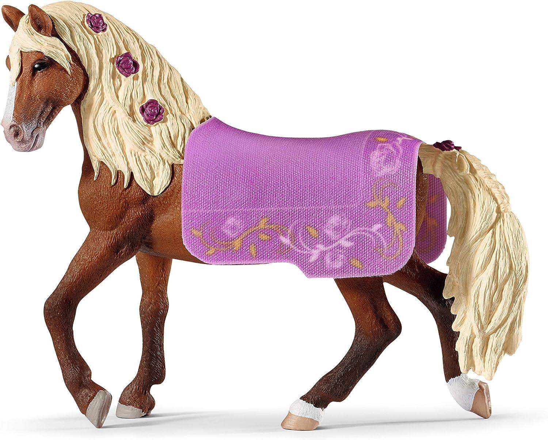 Schleich - Horse Club, Figura Muestra de Caballos Paso Fino con Manta
