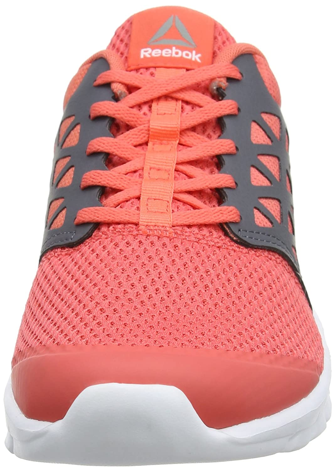 5fe1aff71c7d Reebok Women s Bd5540 Trail Running Shoes Red (Fire Coral Ash Grey White  Pewter) 6.5 UK  Amazon.in  Shoes   Handbags