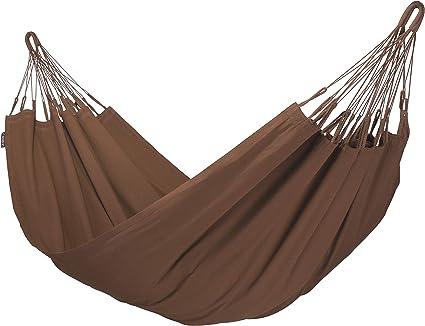 LA SIESTA - Modesta Arabica - Hamaca clásica individual de algodón orgánico: Amazon.es: Jardín
