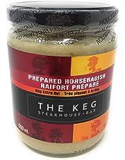 The Keg Prepared Horseradish - Extra Hot - 500 Gram jar