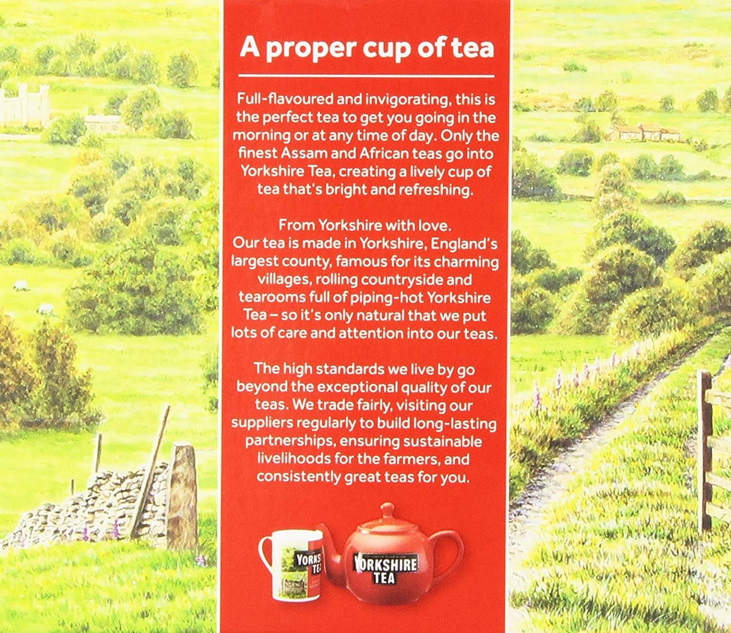 Amazon.com : Taylors of Harrogate Yorkshire Red, 80 Teabags, (Pack ...