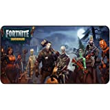 """Funky Store Fortnite Battle Royale Game Large Extended Gaming Mouse Pad Mat, Stitched Edges, Ultra Thick 3 mm, Wide & Long Mousepad 31.5"""" x 11.8"""" x 0.12"""" (2)"""