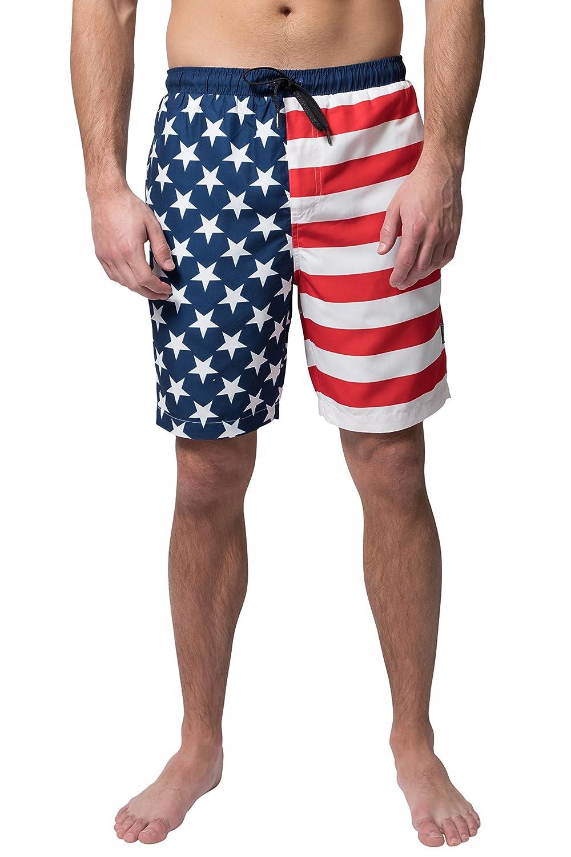 人気絶頂 Brooklyn B079PQ7FR6 Surf Large SHORTS メンズ メンズ B079PQ7FR6 アメリカ国旗 Large Large|アメリカ国旗, Kicks-Online:b33d2206 --- arianechie.dominiotemporario.com