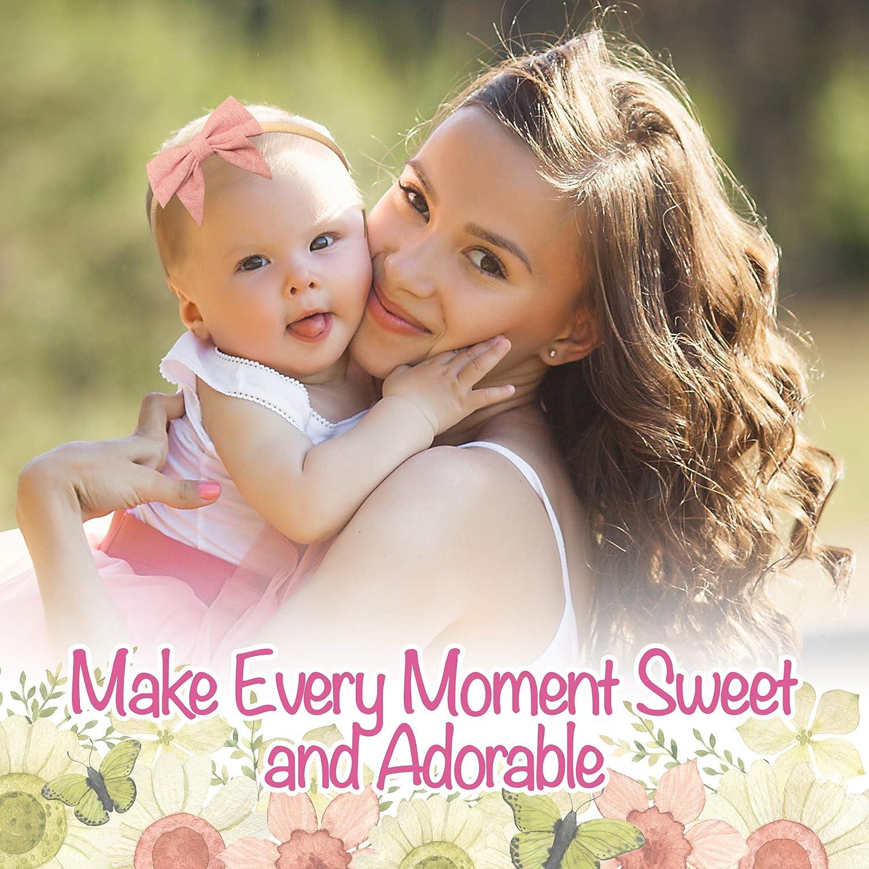 Baby Girl Headbands and Bows Sweet Adore Baby Girl Nylon Headband Hair Accessories