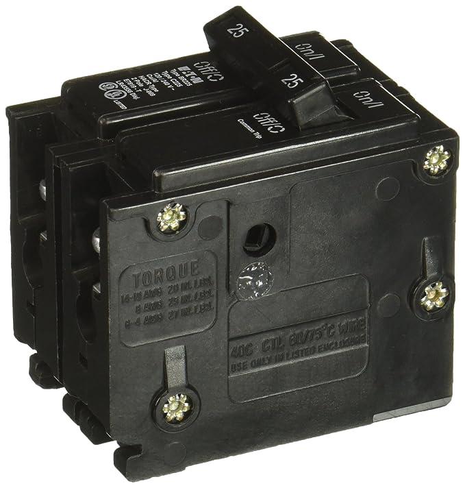 BR225 25 Amp Plug On Circuit Breaker