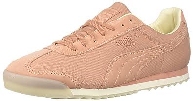 3342b57f5fb PUMA Men s Roma Summer Sneaker Muted Clay-Whisper White 5 ...