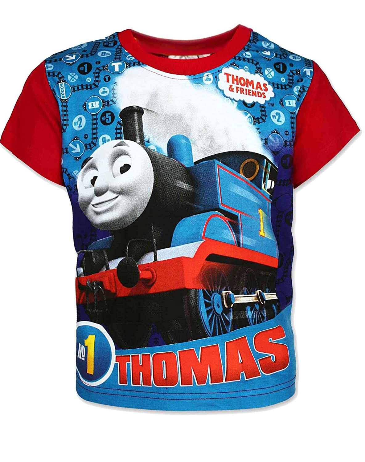 Official Licensed Boys Thomas /& Friends Top Age 3 to 8 Years